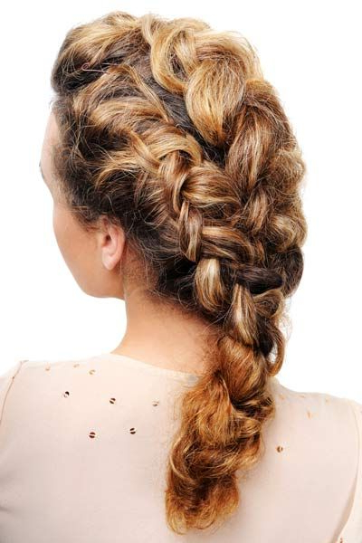 Asymmetrical Double French Braid! | Braided Hairstyles Inside Current Asymmetrical French Braid Hairstyles (View 10 of 25)