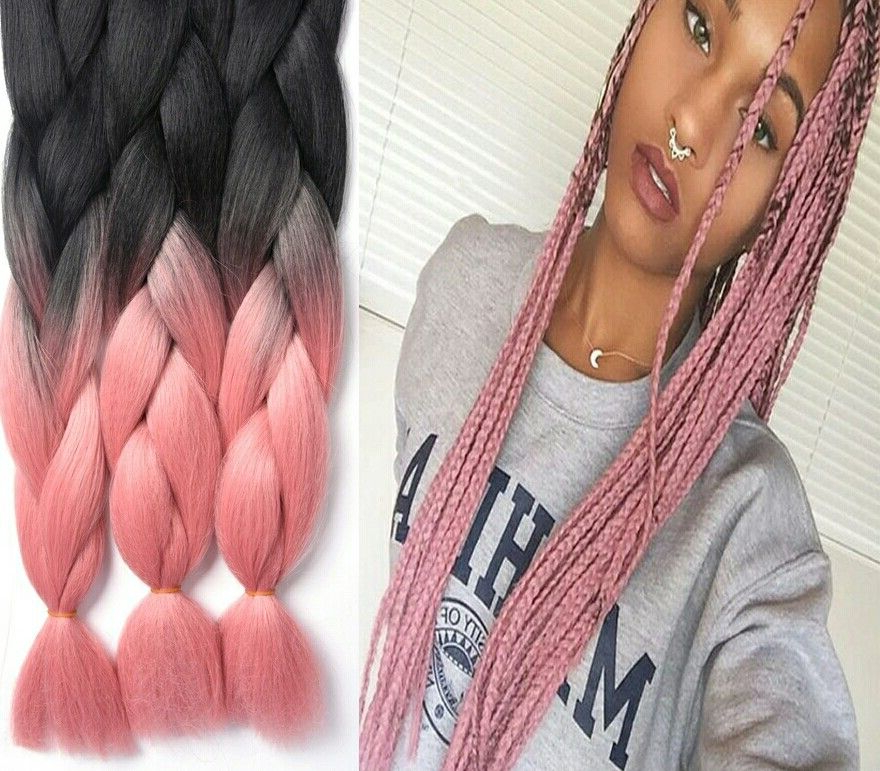 Featured Photo of Baby Pink Braids Hairstyles