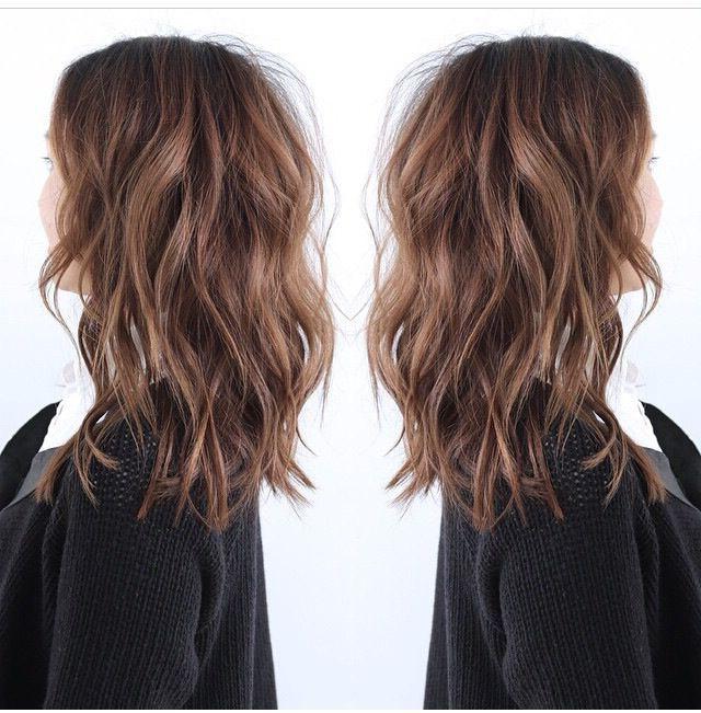 Beach Wave Tutorial | Hair Styles, Hair Lengths, Long Hair With Regard To Mid Length Beach Waves Hairstyles (View 2 of 25)