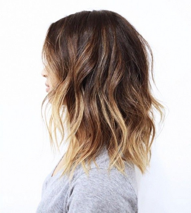 Best Beach Wave Bob Hairstyles Inspiration Hair Ideas Inside Beach Wave Bob Hairstyles With Highlights (View 20 of 25)