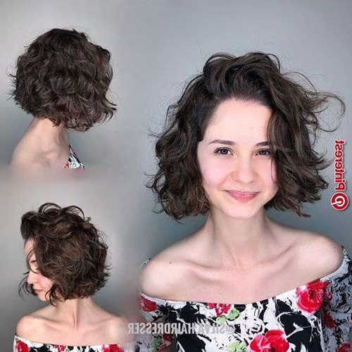 Best Curly Bob Hairstyles For Women With Chic Look | Curly Intended For Curly Bob Hairstyles (View 3 of 25)