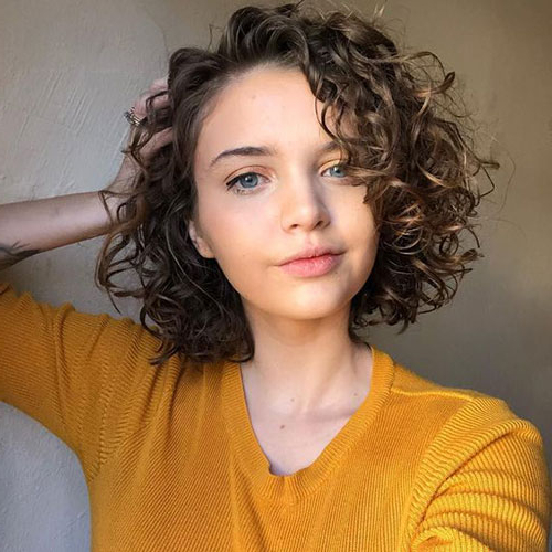 Best Curly Bob Hairstyles For Women With Chic Look   Short In Cute Short Curly Bob Hairstyles (View 23 of 25)