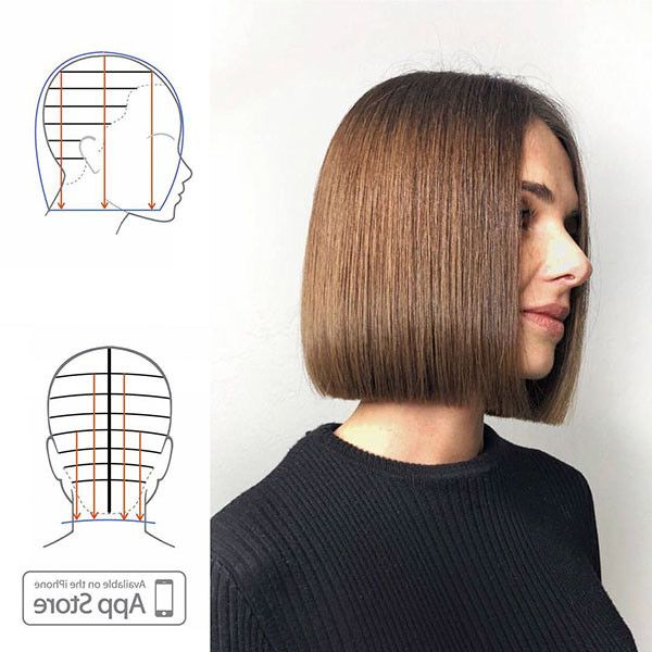 Best New Bob Hairstyles 2019   Choppy Bob Hairstyles, Bob With Regard To Textured Classic Bob Hairstyles (View 5 of 25)
