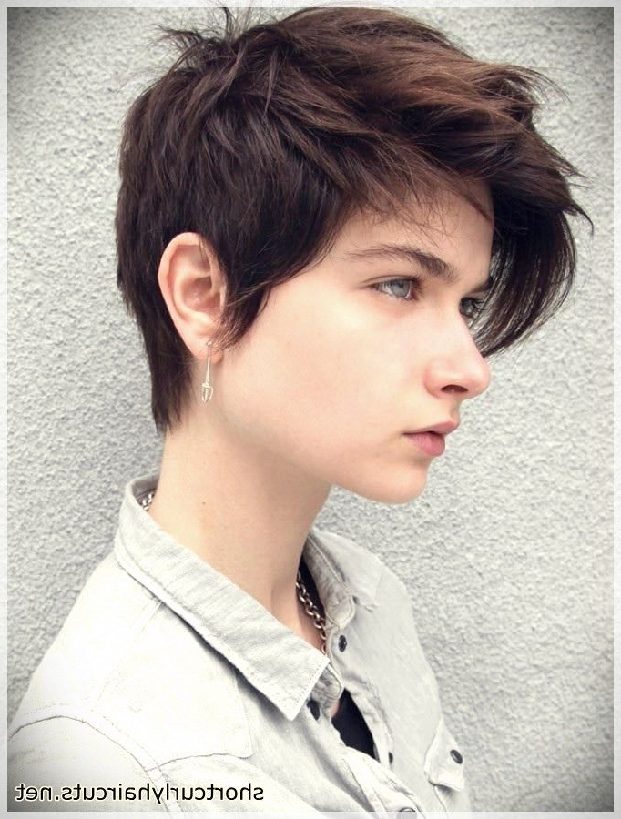 Best Pixie Haircuts For Round Faces | Tomboy Hairstyles In Most Popular Pixie Haircuts For Round Face (View 24 of 25)