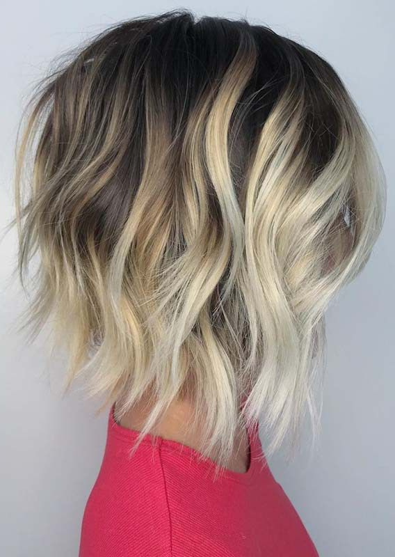 Best Short Textured Bob Haircuts & Hairstyles In 2019 Within Layered And Textured Bob Hairstyles (View 15 of 25)
