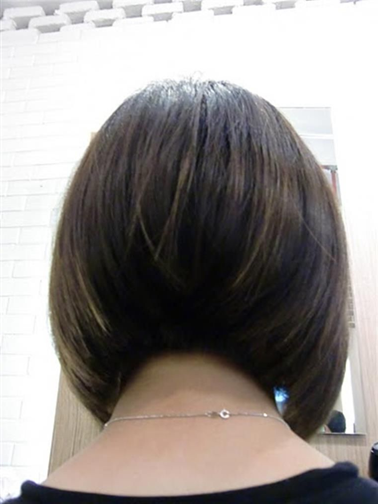 Bing : Bob Hairstyle Back View   Bob Haircut Back View With Regard To Concave Bob Hairstyles (View 3 of 25)