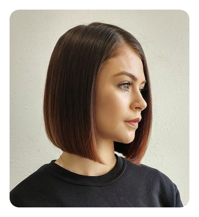 Blunt Cut Bob – Rock Your Edge With 100+ Haircuts To Choose From Intended For Sharp And Blunt Bob Hairstyles With Bangs (View 9 of 25)