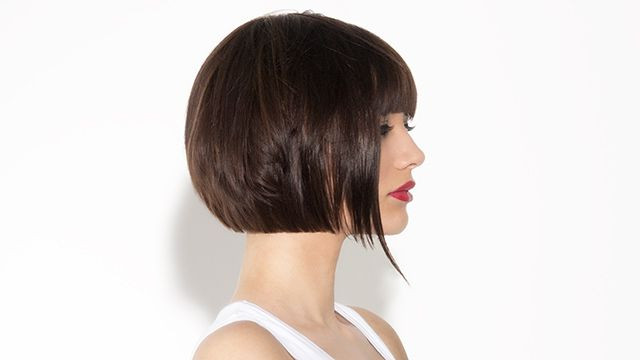 Bob Variation With Undercut – Salon Creative Haircuts Flat Throughout 2018 Classic Disconnected Bob Haircuts (View 18 of 25)