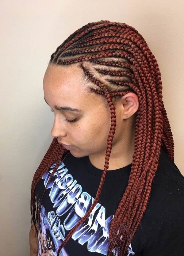 Box Braids Hairstyles, Hairstyles With Box Braids Inside Most Up To Date Medium Sized Braids Hairstyles (View 21 of 25)