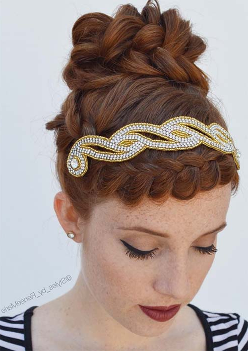 Braided | Fashionisers© Intended For Most Popular Angular Crown Braid Hairstyles (View 21 of 25)