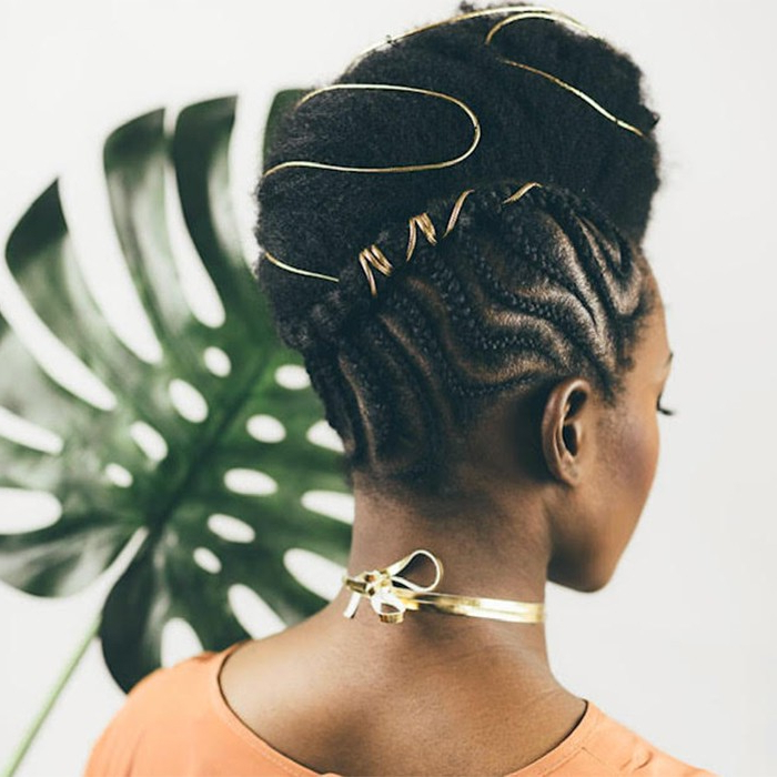 Braided Updos For Every Occasion   Naturallycurly Throughout Current Halo Braid Hairstyles With Long Tendrils (View 12 of 26)