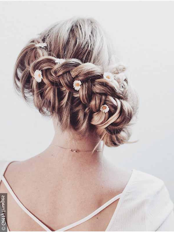 Braiding How To: Style A Crown Braid Four Ways Inside 2020 Angular Crown Braid Hairstyles (View 11 of 25)