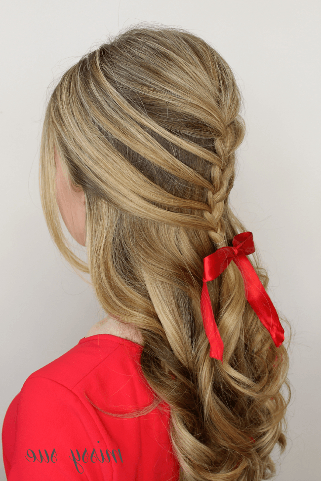 Brigitte Bardot Mermaid Braid | Mermaid Braid, Bardot Hair Throughout Best And Newest Loosely Tied Braid Hairstyles With A Ribbon (View 23 of 25)