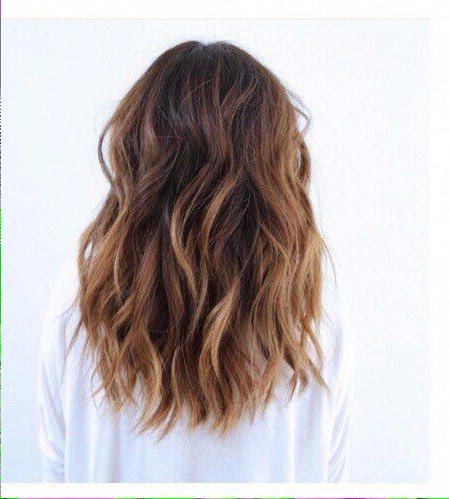 Brunette Beachy Waves | Hair Lengths, Hair Styles, Medium Pertaining To Mid Length Beach Waves Hairstyles (View 6 of 25)
