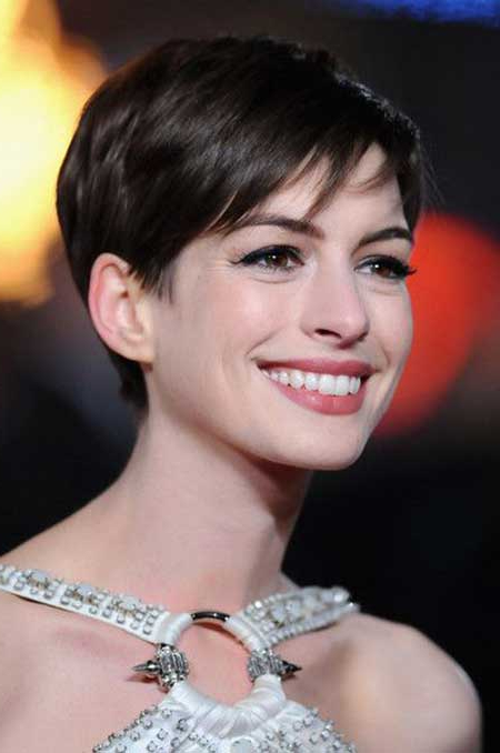 Celebrity Short Hairstyles 2013 for Current Morena Pixie Haircuts With Bangs
