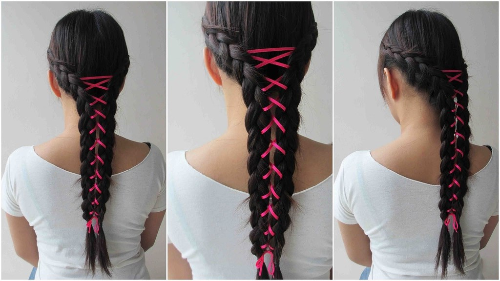Corset Braid Hair Diy Fashion Tips | Diy Fashion Projects within Most Current Corset Braid Hairstyles