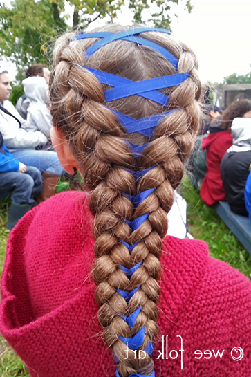 Corset Braid Tutorial Michigan Renaissance Festival - Wee inside Most Recently Corset Braid Hairstyles