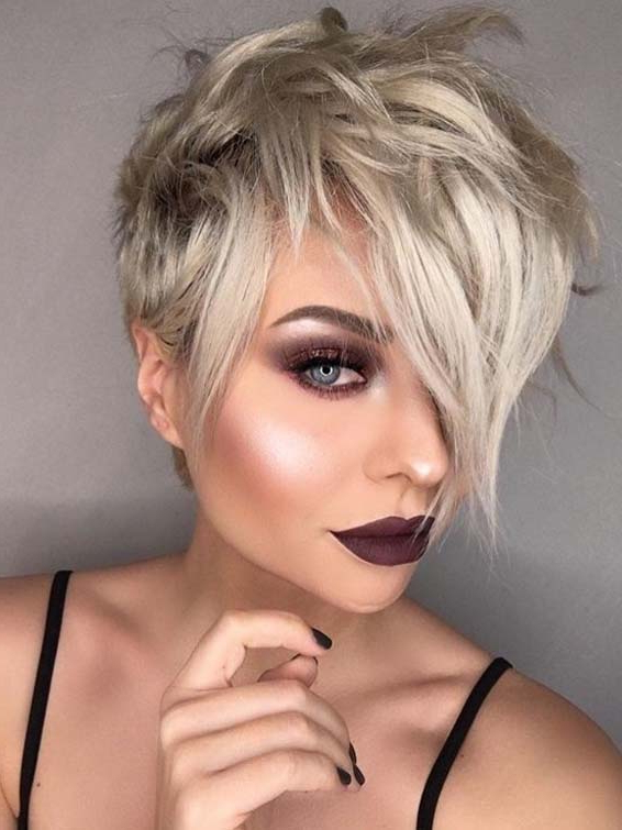Cute Blonde Pixie Haircuts For Women For Gorgeous Looks In in Current Blonde Pixie Haircuts