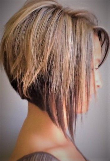 Cute Medium-Short Wedge-Bob Hairstyle | Haircuts For Fine pertaining to Wedge Bob Hairstyles