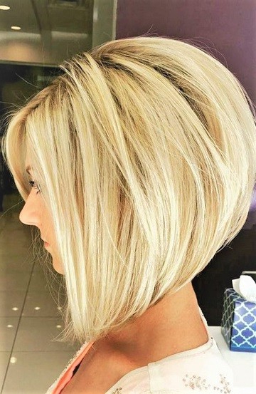 Cute Medium Short Wedge Bob Hairstyle – Short Hairstyles For Wedge Bob Hairstyles (View 3 of 25)