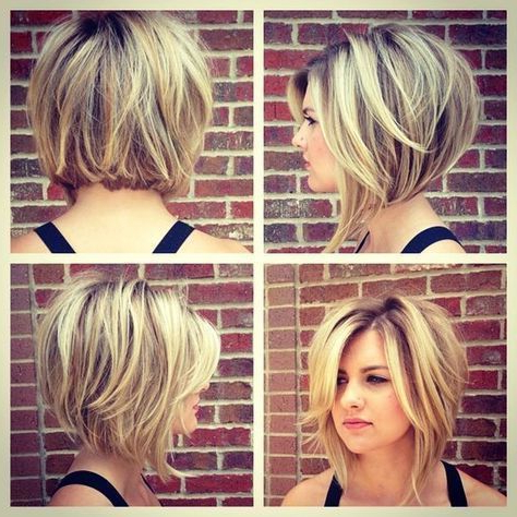 Cute Short Bob Haircuts | Short Hair With Layers, Short Hair with regard to Rounded Short Bob Hairstyles