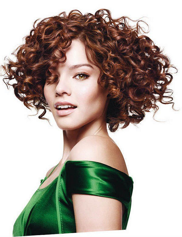 Cute Short Curly Bob Hairstyles With Side Bangs For Women throughout Cute Short Curly Bob Hairstyles
