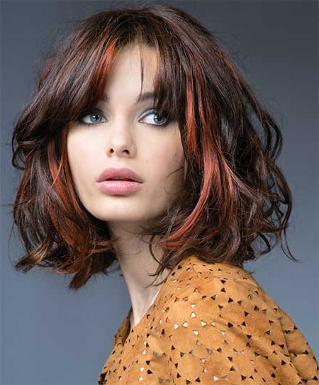Different Bob Hair Styles regarding Most Current Shattered Choppy Bangs Pixie Haircuts
