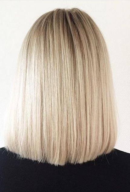Don't Be Afraid To Be Blunt. Blonde Color And Bob Hairstyle within One Length Short Blonde Bob Hairstyles