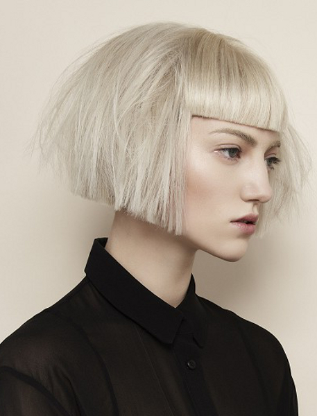 Dreaming Of A Sharp Bob | Cut Technique | Hair Styles for Sharp And Blunt Bob Hairstyles With Bangs