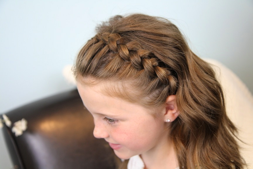 Dutch Lace Braided Headband | Braid Hairstyles | Cute Girls with Most Up-to-Date Full Headband Braid Hairstyles