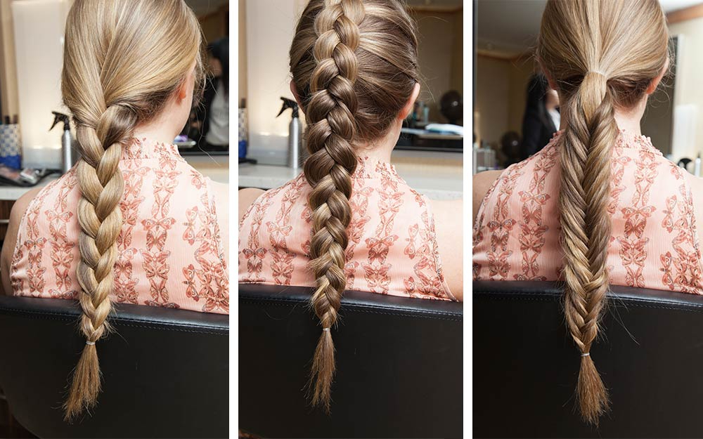 Easy Braid Tutorials: Basic Braids Every Woman Should Know Throughout Most Recently Three Strand Pigtails Braid Hairstyles (View 10 of 25)