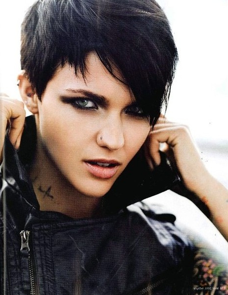 Edgy Pixie Haircuts: Straight Hair – Popular Haircuts Throughout Most Current Edgy Pixie Haircuts (View 14 of 25)
