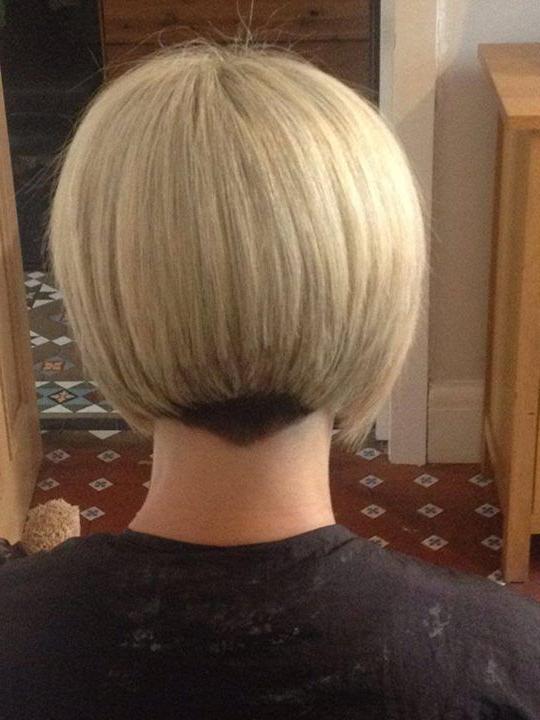 Featured Photo of Blonde Undercut Bob Hairstyles