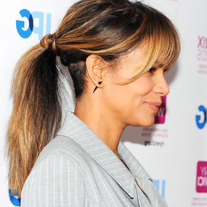 Examples Of Messy Ponytails In Current Crisp Pulled Back Braid Hairstyles (View 14 of 25)