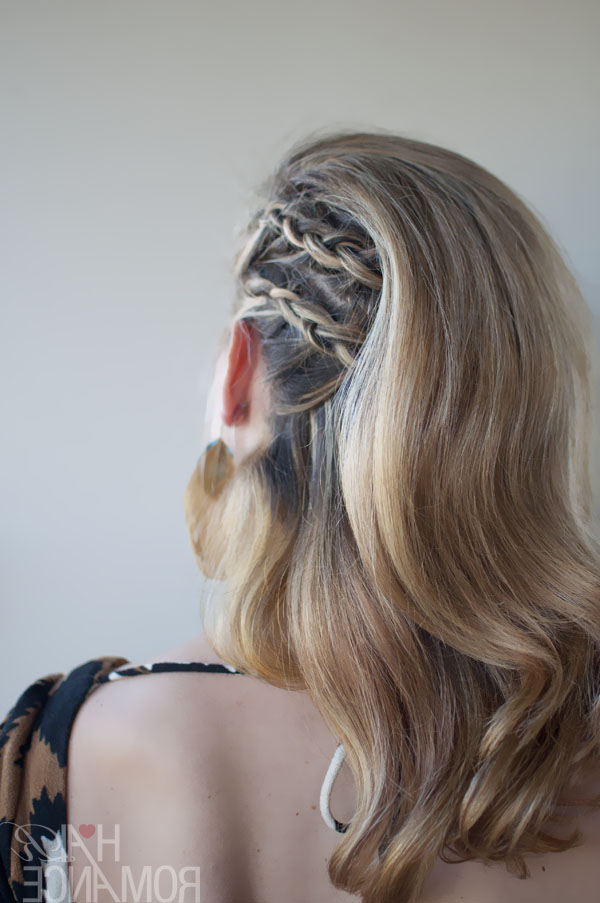 Faux Undercut Cornrow Comb-Over Braid - Trendy Braided pertaining to Most Current Faux Undercut Braid Hairstyles