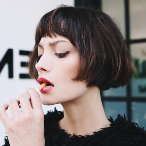 Feel & Look Vintage With These 50 Superb Hairstyles | Hair within Vintage Bob Hairstyles With Bangs