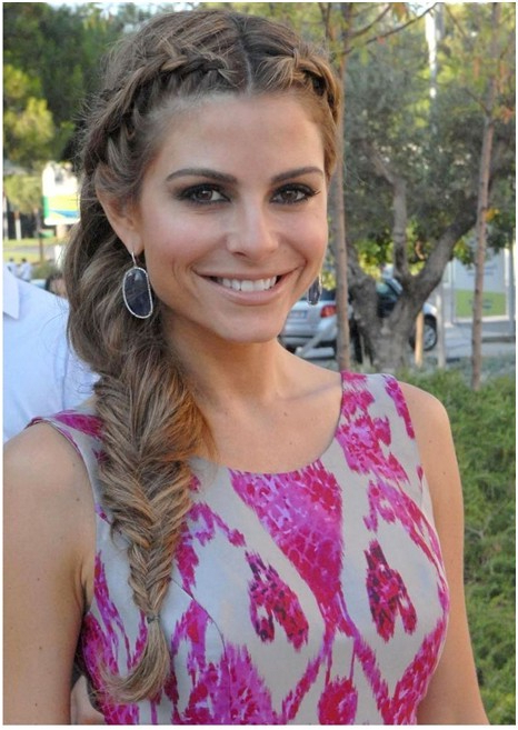 Fishtail Braided Hairstyles Tutorials: Trendy Hairstyles Inside Recent Messy Side Fishtail Braid Hairstyles (View 24 of 25)