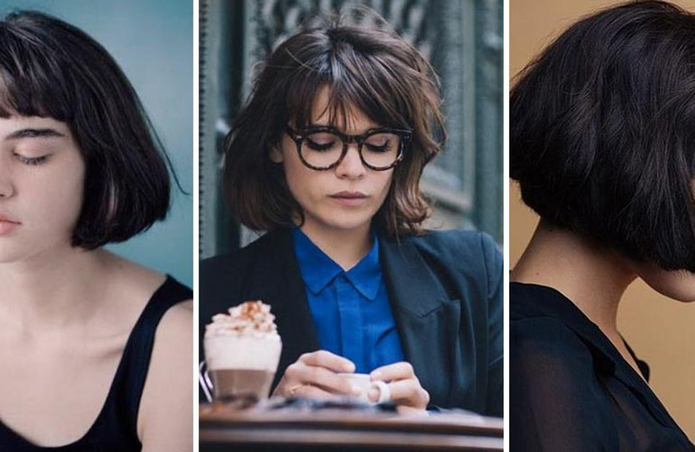 French Bobs Are The Très Chic Hair Trend Of 2017 with Ear Length French Bob Hairstyles