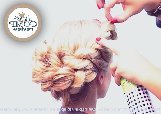 French Braid - Hairstyle Tutorial - Dance Comp Review pertaining to Most Current Solo Braid Hairstyles