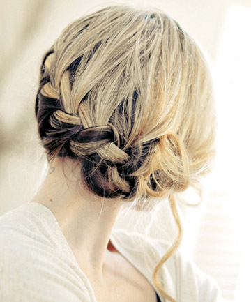 French Braid Hairstyles - How To French Braid for Best and Newest Modern Braided Top-Knot Hairstyles