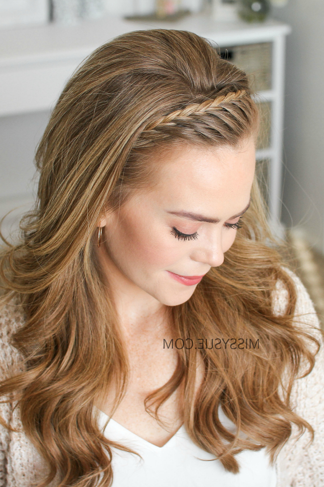 French Lace Headband Braid | Missy Sue Throughout Current Full Headband Braid Hairstyles (View 17 of 25)