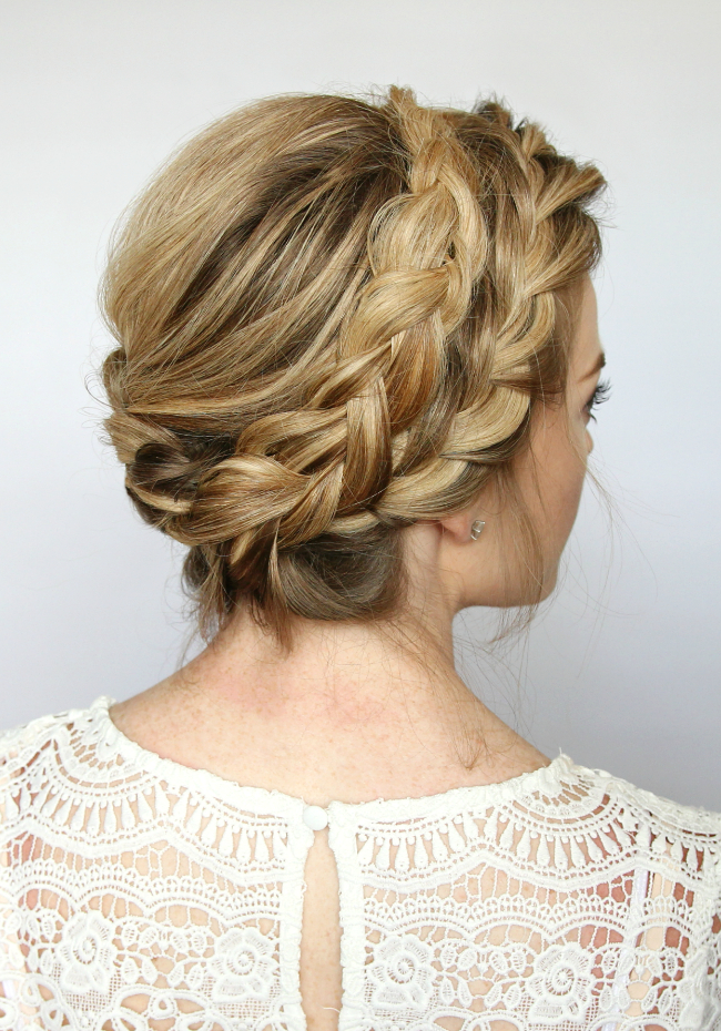 French Milkmaid Braids intended for Latest Milkmaid Crown Braids Hairstyles