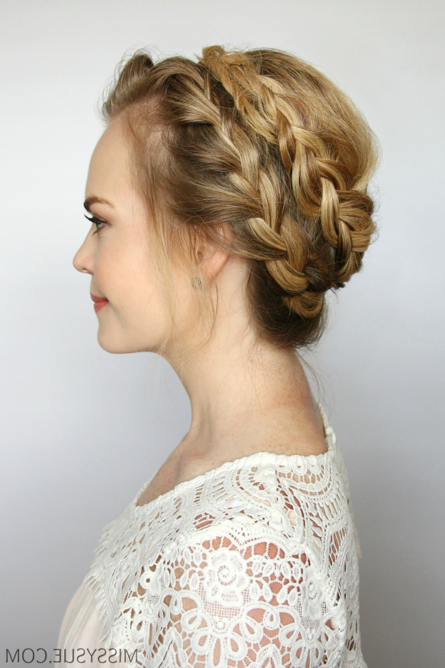 French Milkmaid Braids | Missy Sue throughout Latest Milkmaid Crown Braids Hairstyles