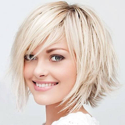 Go For A Shag Haircut: 50 Funky And Cool Ideas! | Hair for Jagged Bob Hairstyles For Round Faces