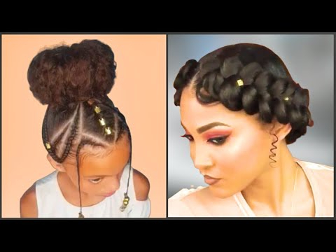 Goddess Braids, Quick Cornrow Protective Style, Halo Braid & Other Protective Hairstyles With Current Braided Halo Hairstyles (View 9 of 25)