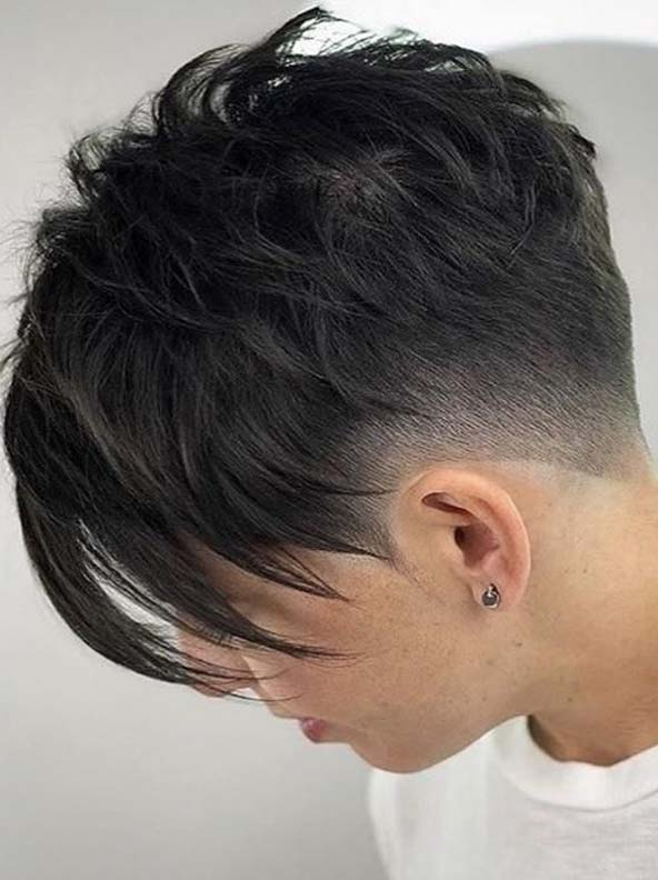 Gorgeous Edgy Pixie Haircuts With Bangs In Year 2019 | Mode Intended For 2018 Edgy Pixie Haircuts (View 21 of 25)