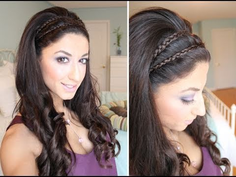 Greek Goddess Inspired Spring Hair with Most Up-to-Date Grecian-Inspired Ponytail Braid Hairstyles