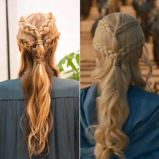 Greek+Maid+Braided+Hairstyle | Greek Hair, Goddess inside Most Up-to-Date Grecian-Inspired Ponytail Braid Hairstyles
