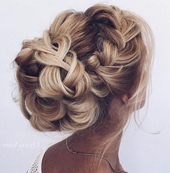 Hair – Braided Low Bun Wedding Hairstyle #2713519 – Weddbook Inside Most Current Plaited Low Bun Braid Hairstyles (View 23 of 25)