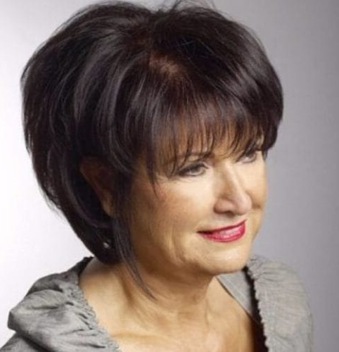 Hairstyles For Women Over 60: 50 Celebrity Inspired Looks Throughout Cute Round Bob Hairstyles For Women Over  (View 4 of 25)